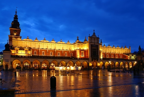 The most romantic places in Krakow